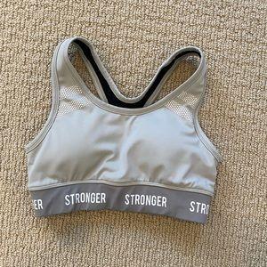 STRONGER sports bra XS Tahoe grey